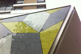 Glass Rainscreen Cladding